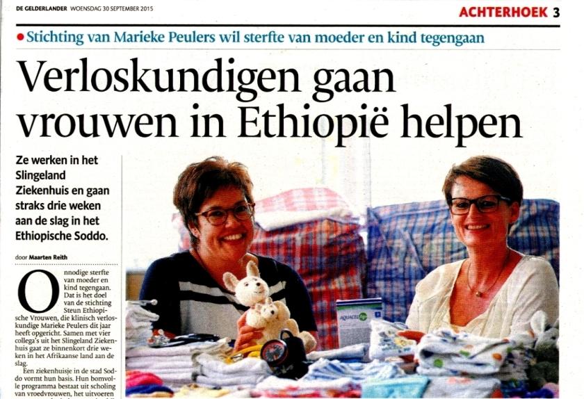 De Gelderlander 30 september 2015